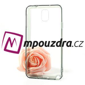 Gelové hybrid pouzdro na Samsung Galaxy Note 3- šedé - 5