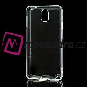 Gelové hybrid pouzdro na Samsung Galaxy Note 3- transparentní - 5