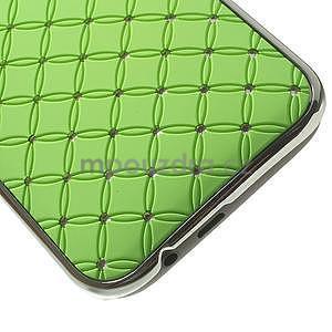 Drahokamové pouzdro pro HTC one M8- zelené - 5