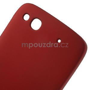 Hard Case pouzdro na Alcatel One Idol Alpha 6032 A - červené - 5