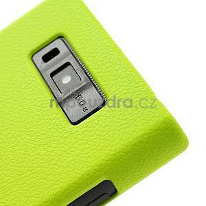 Texturované pouzdro pro LG Optimus L7 P700- zelené - 5