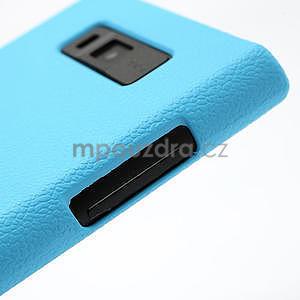 Texturované pouzdro pro LG Optimus L7 P700- modré - 5