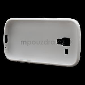 Plastogelové pouzdro na Samsung Galaxy Trend, Duos- bílé - 5
