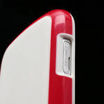 Plastogelové pouzdro na Samsung Galaxy Trend, Duos- červené - 5/5