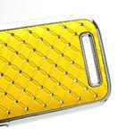Drahokamové pouzdro pro HTC One SV- žluté - 5/5