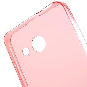 Ultratenký gelový obal na mobil Microsoft Lumia 550 - červený - 5