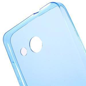 Ultratenký gelový obal na mobil Microsoft Lumia 550 - modrý - 5