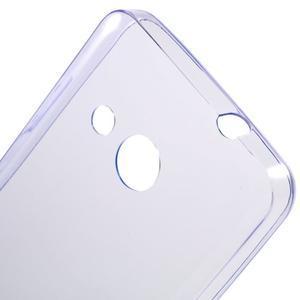 Ultratenký gelový obal na mobil Microsoft Lumia 550 - fialový - 5