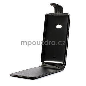 Flipové pouzdro pro Nokia Lumia 625- černé - 5