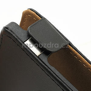 Flipové černé pouzdro pro Nokia Lumia 925 - 5