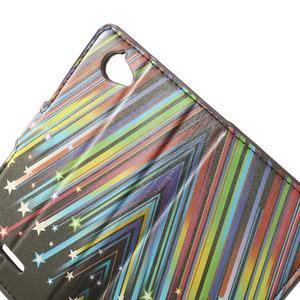 Peněženkové pouzdro na Sony Xperia L C2105 - meteor - 5