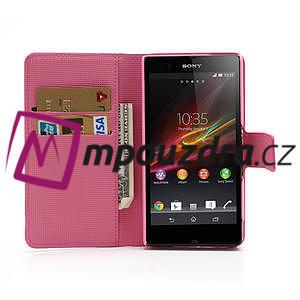 Peněženkové pouzdro na Sony Xperia Z C6603 - barevní motýlci - 5