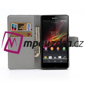 Peněženkové pouzdro na Sony Xperia Z C6603 - barevné vzory - 5