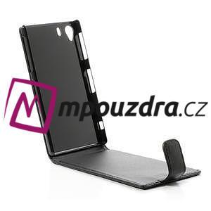 Flipové pouzdro na Sony Xperia Z1 C6903 - černé - 5