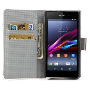 Peněženkové pouzdro na Sony Xperia Z1 C6903 L39- USA vlajka - 5