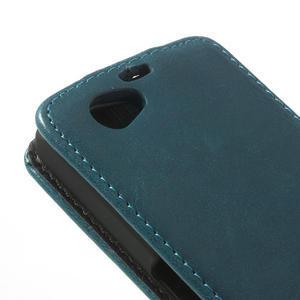 Flipové pouzdro na Sony Xperia Z1 Compact D5503- modré - 5