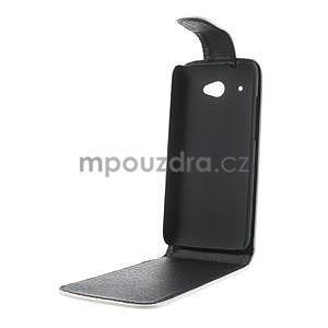 Flipové pouzdro pro HTC Desire 601- bílé - 5