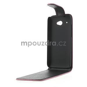 Flipové pouzdro pro HTC Desire 601- růžové - 5