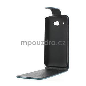 Flipové pouzdro pro HTC Desire 601- modré - 5