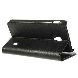 Peněženkové pouzdro na LG Optimus F6 D505- černé - 5