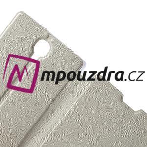 Peněženkové pouzdro na Xiaomi Hongmi Note- bílé - 5