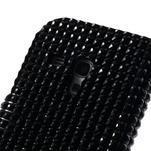Černé pouzdro pro Samsung Galaxy S3 mini / i8190 - kamínkové - 5/5