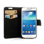 Peněženkové pouzdro na Samsung Galaxy S4 mini i9190- puntíkaté bílé - 5/7