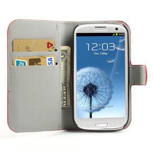 Peněženkové pouzdro na Samsung Galaxy S3 i9300- USA vlajka - 5