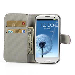 Peněženkové pouzdro na Samsung Galaxy S3 i9300- meteor - 5
