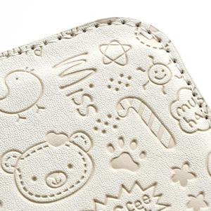Peněženkové pouzdro na Samsung Galaxy S3 i9300- bílé - 5