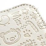 Peněženkové pouzdro na Samsung Galaxy S3 i9300- bílé - 5/6