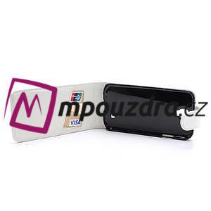Flipové pouzdro pro Samsung Galaxy S4 i9500- bílé - 5
