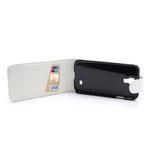 Flipové pouzdro pro Samsung Galaxy S4 i9500- bílé - 5/5