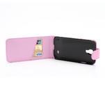 Flipové pouzdro pro Samsung Galaxy S4 i9500- světle-růžové - 5/5