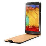 Flipové PU kožené pouzdro na Samsung Galaxy Note 3- černé - 5/7