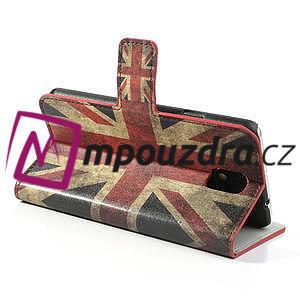 Peněženkové pouzdro na Samsung  Galaxy Note 3- UK vlajka - 5