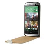 Flipové pouzdro pro HTC one M8- bílé - 5/7