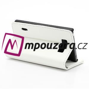 Peněženkové pouzdro na LG Optimus L7 P700 - bílé - 5