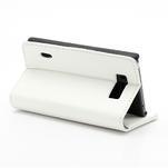Peněženkové pouzdro na LG Optimus L7 P700 - bílé - 5/7