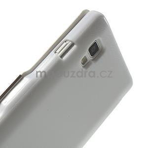 Flipové pouzdro pro LG Optimus L9 P760- bílé - 5