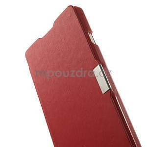Flipové pouzdro pro LG Optimus L9 P760- červené - 5