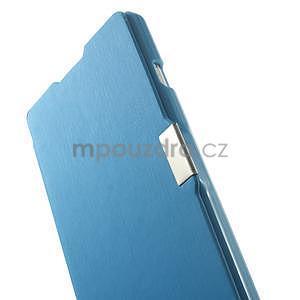 Flipové pouzdro pro LG Optimus L9 P760- modré - 5