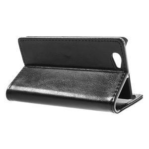 Peněženkové pouzdro na Sony Xperia Z1 Compact D5503- černé - 5