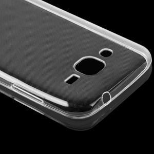 Transparentní ultratenký gelový obal na mobil Samsung Galaxy J1 (2016) - 5