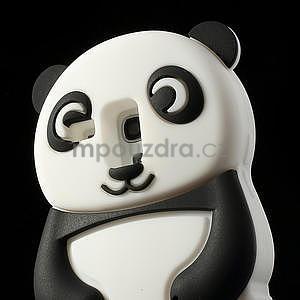 3D Silikonové pouzdro pro Samsung Galaxy S3 mini / i8190 - vzor černá panda - 5