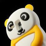 3D Silikonové pouzdro pro Samsung Galaxy S3 mini / i8190 - vzor žlutá panda - 5/7