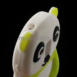 3D Silikonové pouzdro pro Samsung Galaxy S3 mini / i8190 - vzor zelená panda - 5