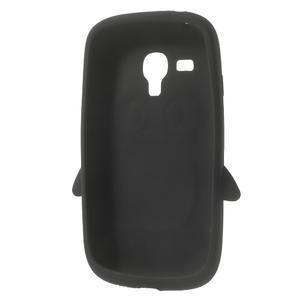 Silikonový TUČŃÁK pouzdro na Samsung Galaxy S3 mini i8190- černý - 5