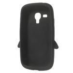 Silikonový TUČŃÁK pouzdro na Samsung Galaxy S3 mini i8190- černý - 5/7