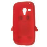 Silikonový TUČŃÁK pouzdro na Samsung Galaxy S3 mini i8190- červený - 5/7